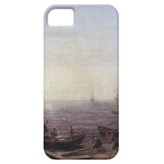 A Seaport at Sunrise by Claude Lorrain iPhone SE/5/5s Case