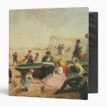 A Seaside Scene Vinyl Binders