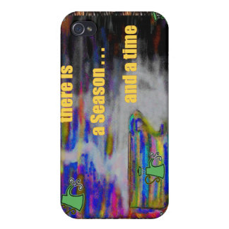 a Season, a time..., ipad/iphone/Pod Cases iPhone 4 Covers
