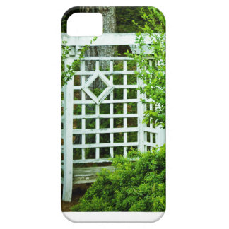 A Seat in the Garden iPhone 5 Cover