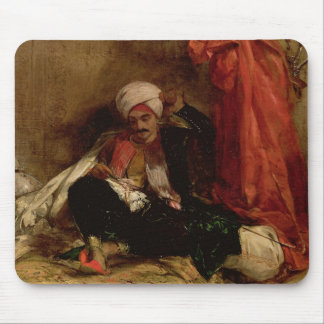 A Seated Turk, 1826 (oil on canvas) Mouse Pad