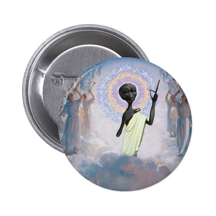A Second Coming Pinback Button