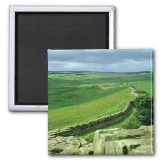 A section of Hadrian's Wall, 2nd century AD (stone Fridge Magnet