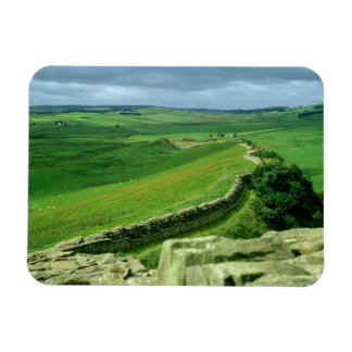A section of Hadrian's Wall, 2nd century AD (stone Magnet