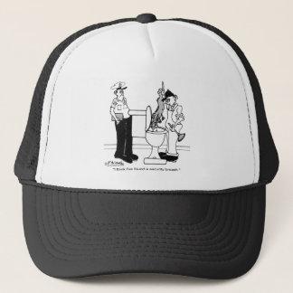 A Security Breach Trucker Hat
