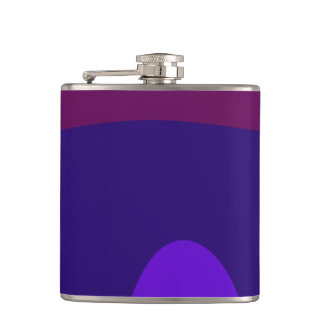 A Sedate Young Lady Hip Flask