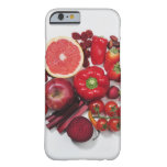 A selection of red fruits & vegetables. barely there iPhone 6 case
