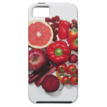 A selection of red fruits & vegetables. iPhone 5 case