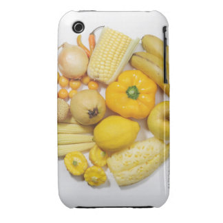 A selection of yellow fruits & vegetables. Case-Mate iPhone 3 cases