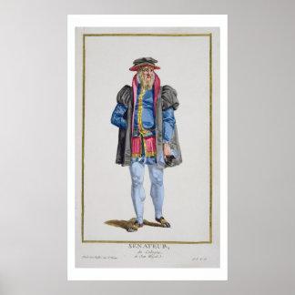 A Senator of Koln from 'Receuil des Estampes, Repr Poster