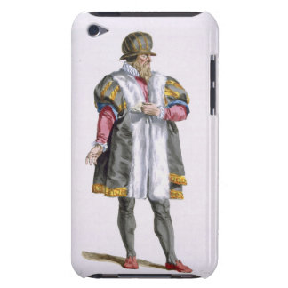 A Senator of Leipzig from 'Receuil des Estampes, R iPod Touch Cover