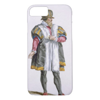 A Senator of Leipzig from 'Receuil des Estampes, R iPhone 8/7 Case
