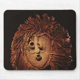 A Seneca mask used in winter rites Mouse Pad