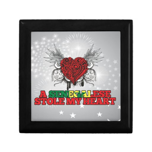 A Senegalese Stole my Heart Jewelry Box