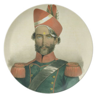 A Sepoy: an Indian Soldier in the French Battalion Plate