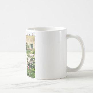 A Serene Formal Rose Garden Coffee Mug