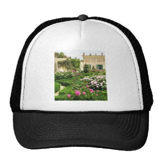 A Serene Formal Rose Garden Trucker Hat