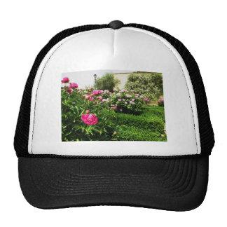 A Serene Rose Garden Trucker Hat