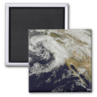A series of strong storms with fierce winds 2 refrigerator magnet