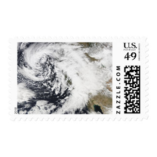 A series of strong storms with fierce winds postage