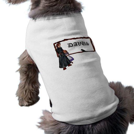 A Serious Man Dog Tee Shirt