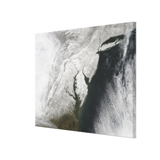A severe winter storm 2 stretched canvas prints