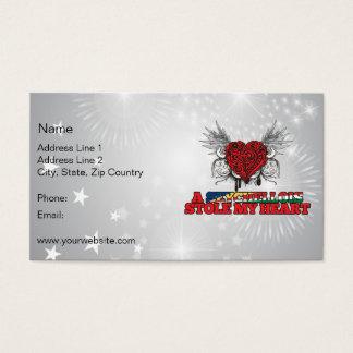 A Seychellois Stole my Heart Business Card