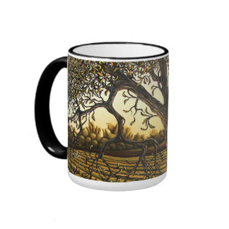 """A Shady Place"" Coffee Mugs"