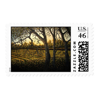A Shady Place Postage Stamp