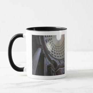 A shaft of light through the oculus in the mug