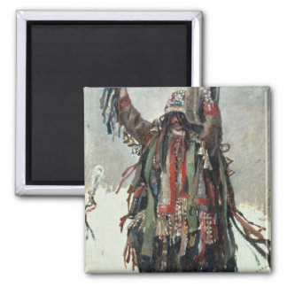 A Shaman sketch for Yermak 2 Inch Square Magnet