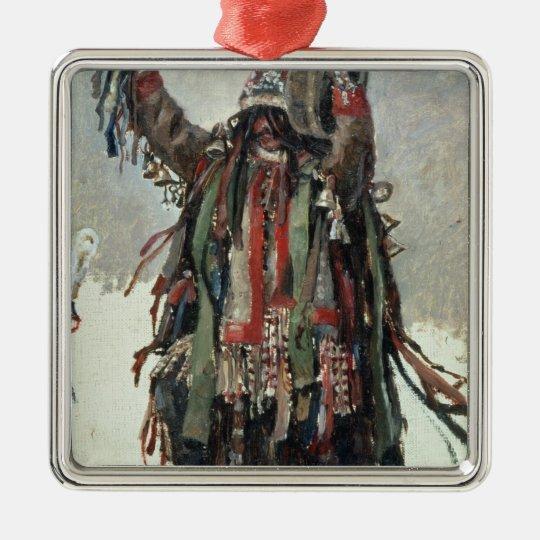 A Shaman sketch for Yermak Metal Ornament