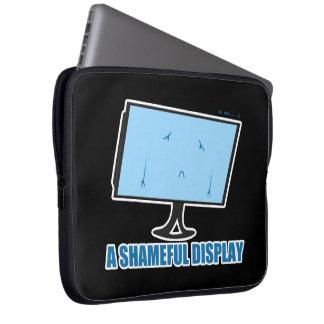 A Shameful Display Laptop Computer Sleeve