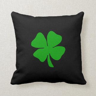A Shamrock Throw Pillow