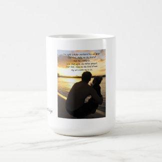 A Shared Prayer Father Son Mug
