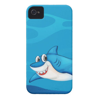 A shark under the sea iPhone 4 Case-Mate case