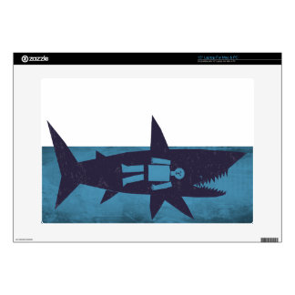 A Shark's Meal Decals For Laptops