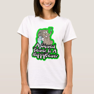 A Shaved Beaver Is A Happy Beaver T-shirt