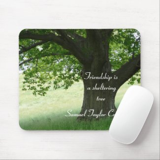 A Sheltering Tree mousepad