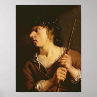 A Shepherd, 1635 Poster