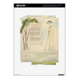 A Shepherd Reading the Epitaph, from Elegy Written iPad 3 Decal