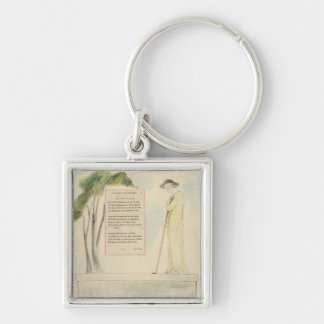 A Shepherd Reading the Epitaph, from Elegy Written Keychain