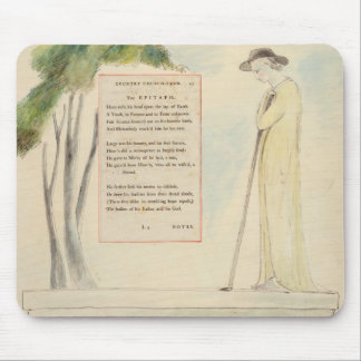 A Shepherd Reading the Epitaph, from Elegy Written Mouse Pad