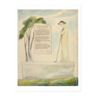 A Shepherd Reading the Epitaph, from Elegy Written Postcard