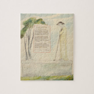 A Shepherd Reading the Epitaph, from Elegy Written Puzzle