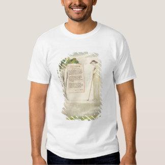 A Shepherd Reading the Epitaph, from Elegy Written Tee Shirt