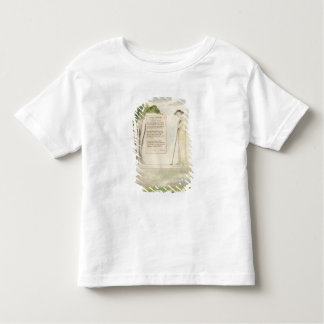 A Shepherd Reading the Epitaph, from Elegy Written Toddler T-shirt