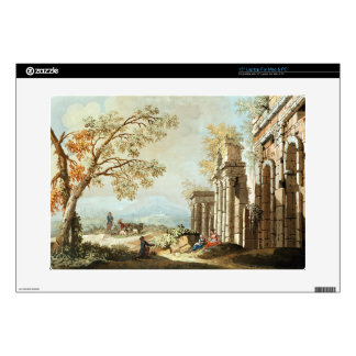 """A Shepherd with Goats and other Figures amongst Cl 15"""" Laptop Skin"""