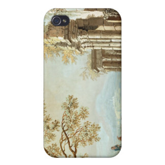 A Shepherd with Goats and other Figures amongst Cl iPhone 4 Covers