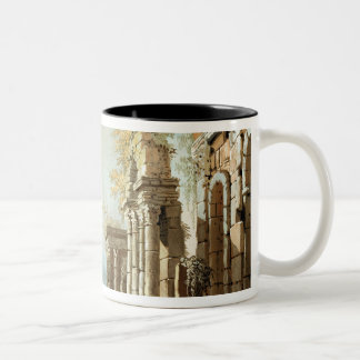 A Shepherd with Goats and other Figures amongst Cl Mug